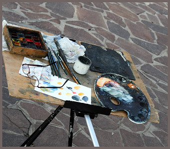 An Artist's Pallette Venice By: Kimberly Marshall