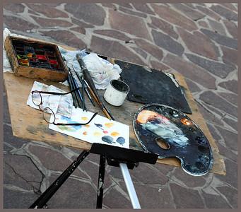 An Artist's Pallette Venice By: Kimberly Marshall