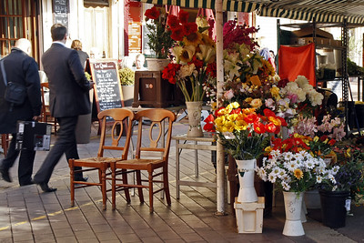Empty Chairs in Nice Nice By: Kimberly Marshall