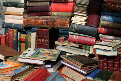 Books Surrounding the Bible London By: Kimberly Marshall
