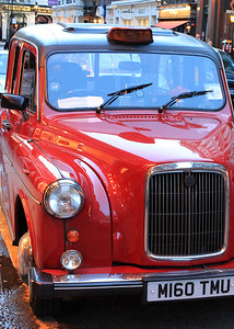 Red Car London By: Kimberly Marshall