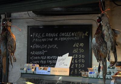 Pheasants Burrough Market London By: Kimberly Marshall