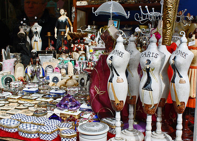Portobello Market Mannequins By: Kimberly Marshall London