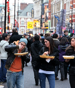 Chinese New Year Street Food  London By: Kimberly Marshall