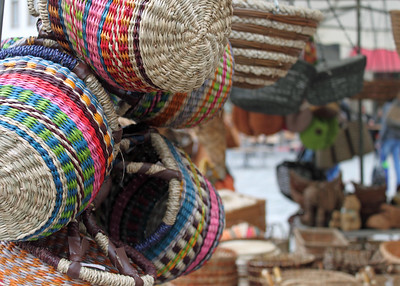Hand Woven Baskets By: Kimberly Marshall Bamberg