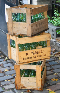 Crates of Green Bottles Paris By: Kimberly Marshall