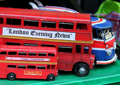 London Double Decker Toys London By: Kimberly Marshall