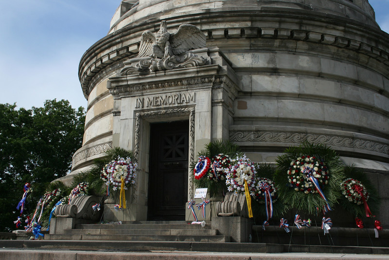 Started my Memorial Day walk at the Soldiers and Sailors Monument