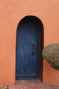 The Blue Door ~ What's behind the blue door??