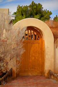 Gate at Mesilla