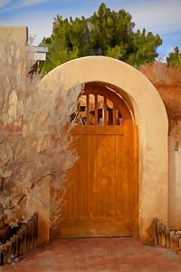 Gate at Mesilla