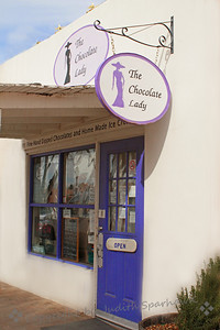 The Chocolate Lady ~ A vision in purple....