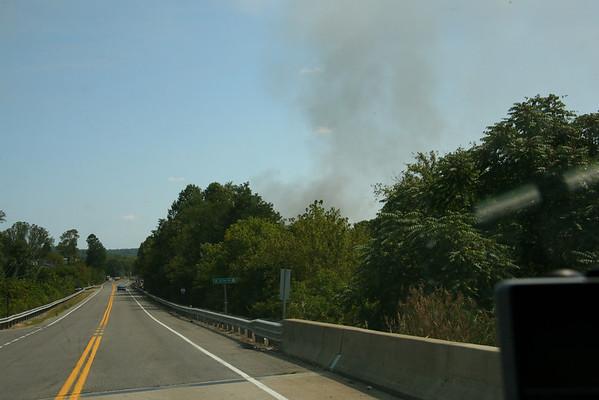 Milton Flea Market Fire