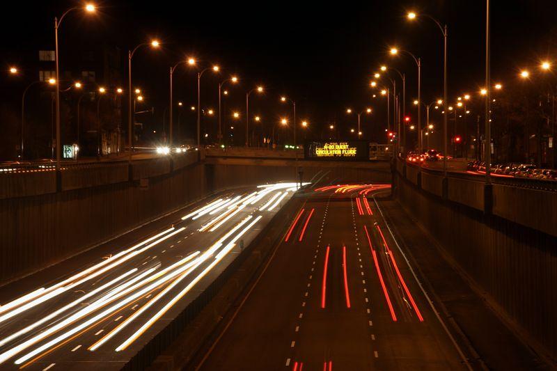 Night of Boulevard Decarie