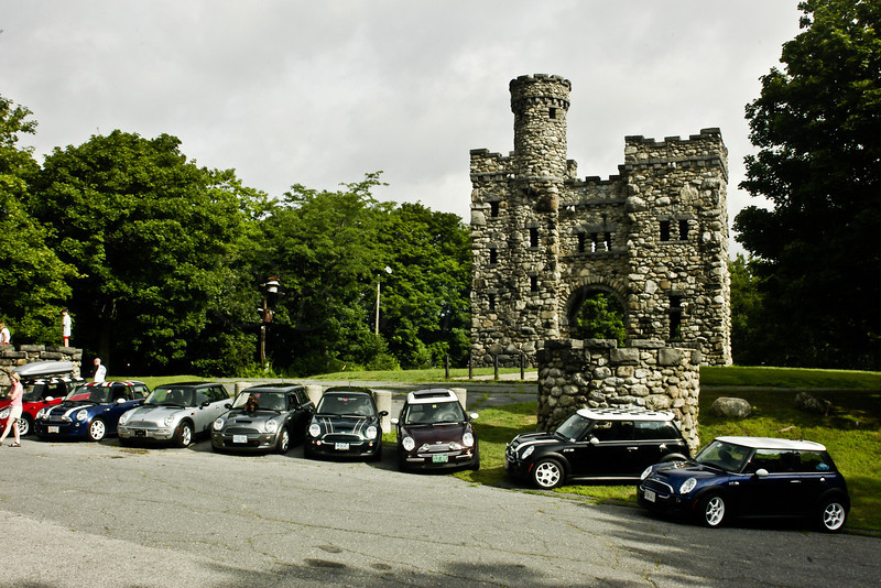 Bancroft Tower and Cooper Minis