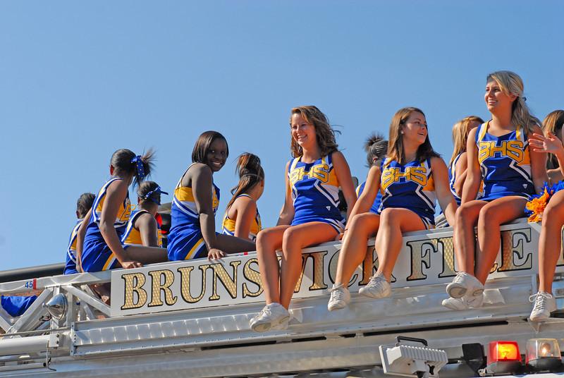 Brunswick High School Homecoming Parade 2008 in Brunswick, Georgia