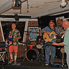 Bob Herrin, Don Berg, and Rory Knapton - Singing at Fireballz 04-23-16