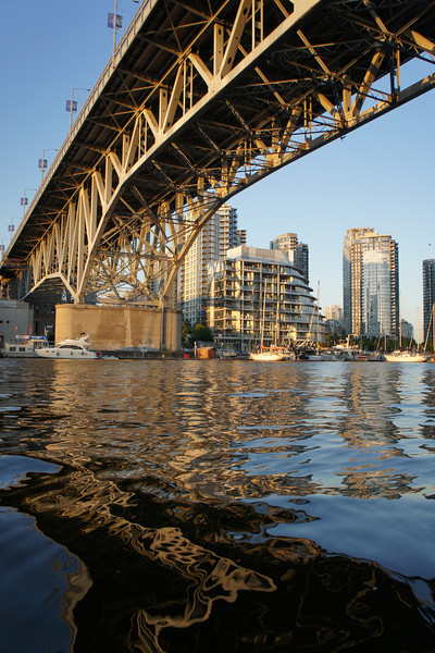 Granville Bridge, July 2010.