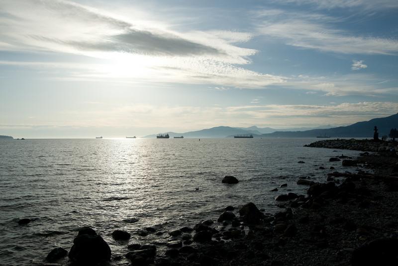 English Bay, May 2010.