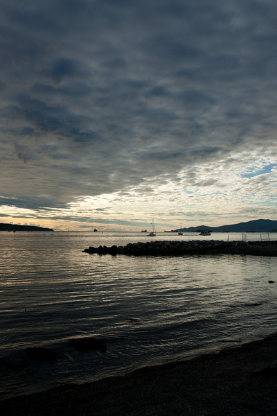 English Bay, September 2010.