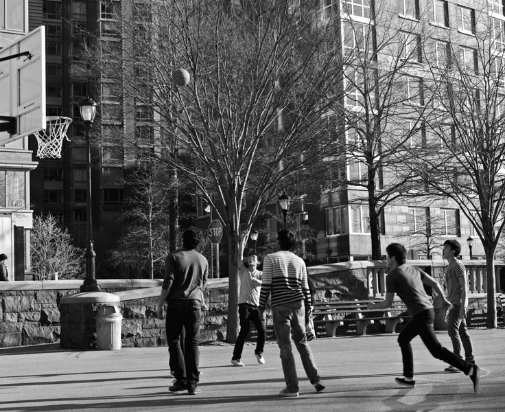Battery Park - After School Hoops - March 2012