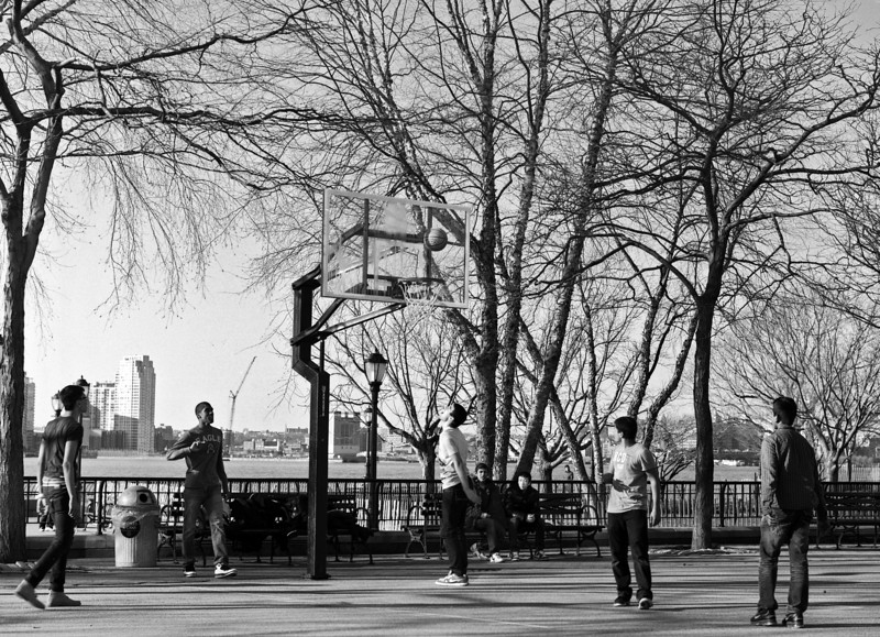 Battery Park City - Hoops - March 2012