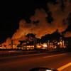 Turnpike smoke stacks