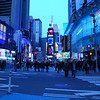 Time Square set with wrong white balance, but I thought it still worked with the insanity of it all.