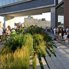 The High Line goes under a new condo building.