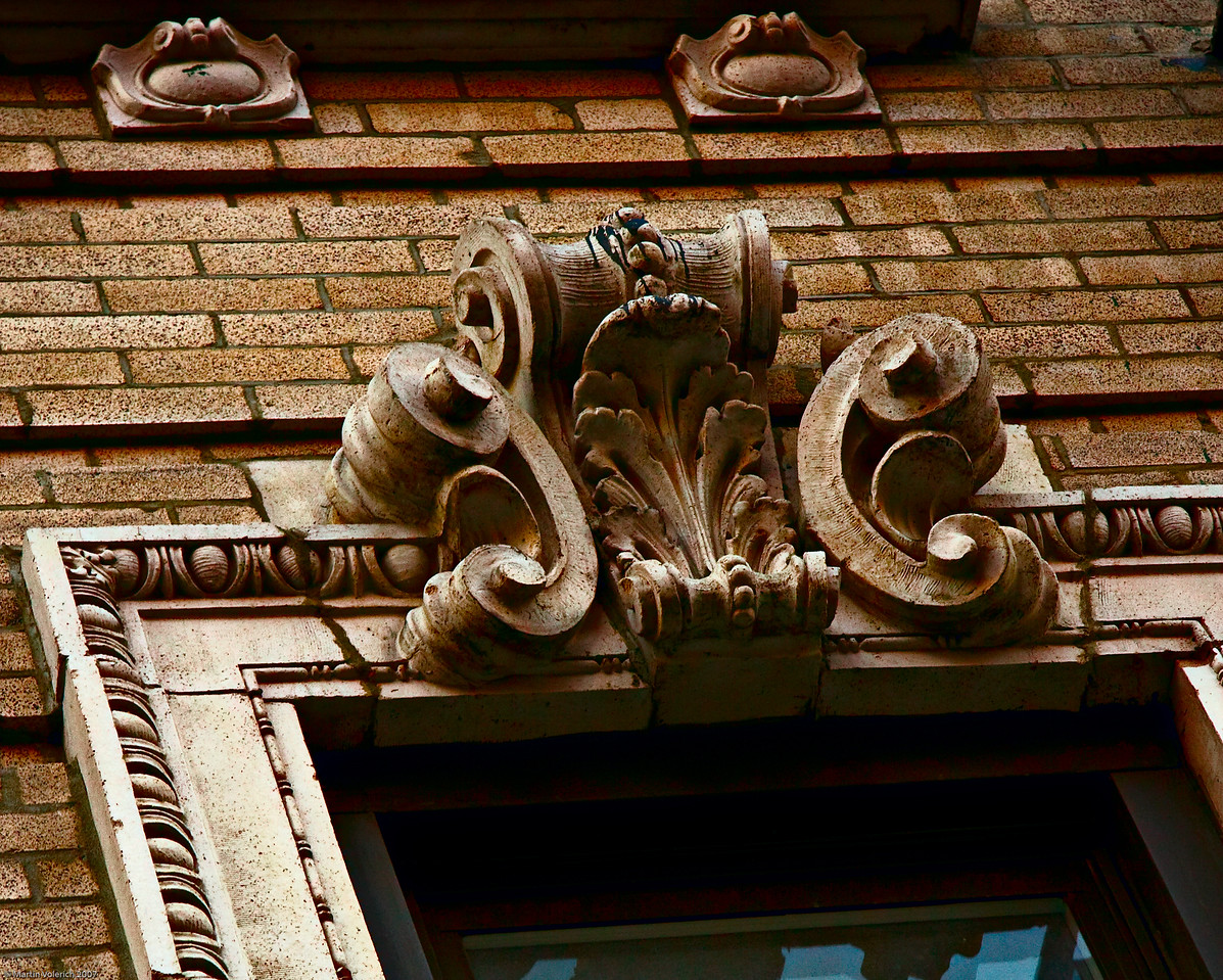 Window Detail, Orchard Street, NYC