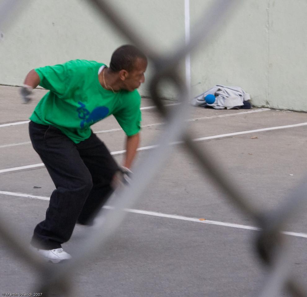 Handball Player in the West Village
