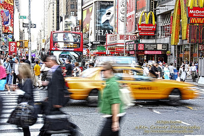 Times Square - Looks like a slow day.