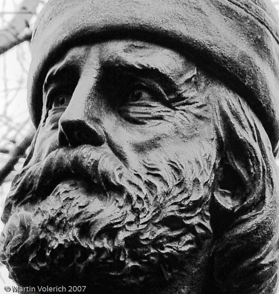 Giuseppe Garibaldi in Washington Square Park, NYC