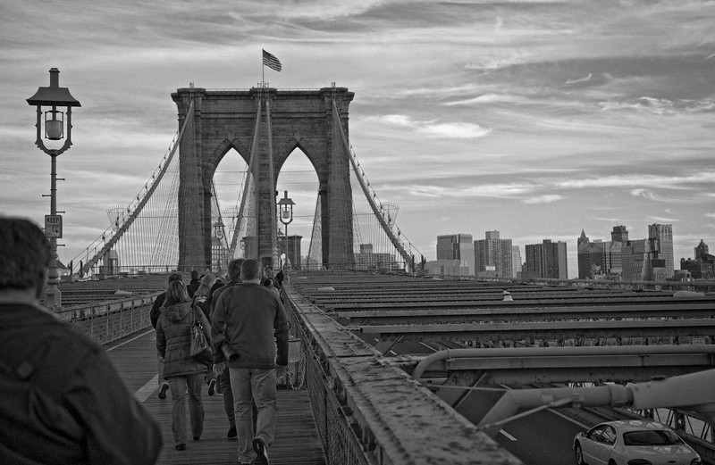 Brooklyn Bridge.  To be honest when I heard we were going to photograph this I wasn't really thrilled but it turned out to be a wonderful place to shoot.  I'd love to go back again.  Fortunately for us the weather was perfect and we were there at sunset.