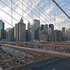Brooklyn Bridge looking towards the financial district.