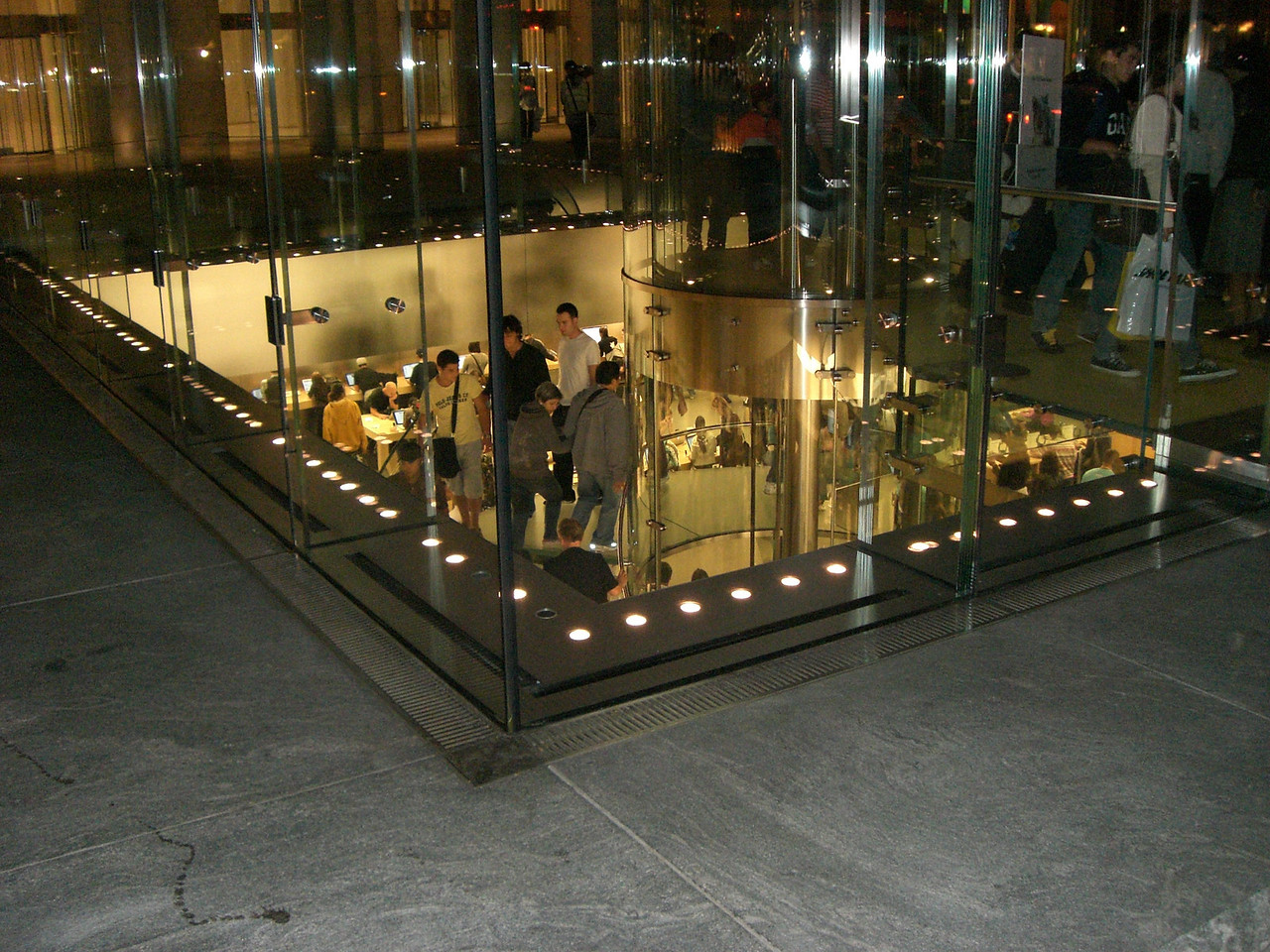 Glass Apple Store NYC