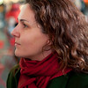 A woman with a thick french accent that we found at Times Square and talked into allowing us to photograph her.