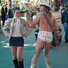 The Naked Cowboy, amusing but actually a disgrace.  What did you do with your life?  I stood in my underwear at Times Square and collected money...