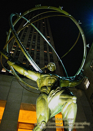 Atlas - Rockefeller Center 5th Ave New York