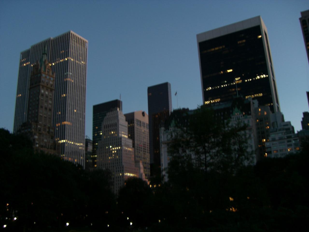 Central Park at Dark