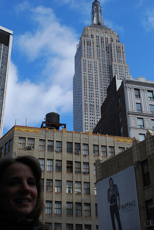 Linda and the Empire State Building