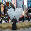 Christina in Time Square