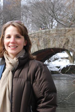 Linda in Central Park