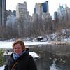 Christina in Central Park