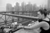 010  New York - Brooklyn Bridge, love padlocks