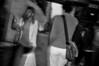 016  New York - Soho, shopper in the rain