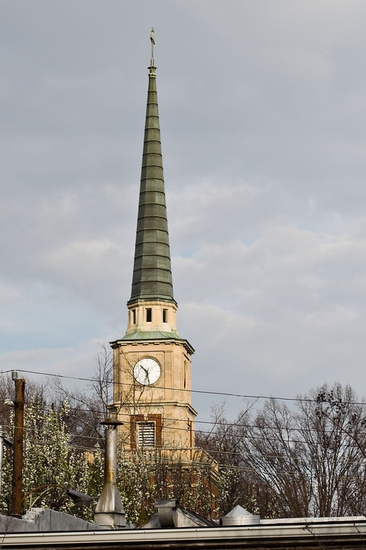 davidson north carolina   nc steeple