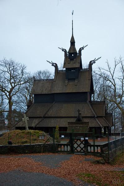 Stavkirke in Bergen