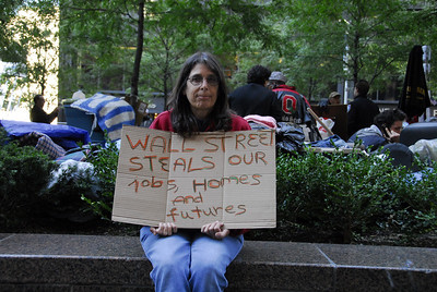 Occupy Wall Street Demo - Zuccotti Park