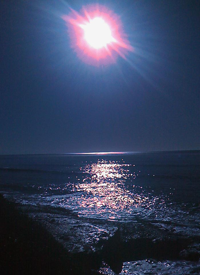 Sunset in Ocean Beach, San Diego, CA